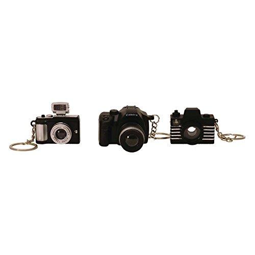 Preisvergleich Produktbild Kamera Schlüsselanhänger mit LED Licht und Sound - Fotokamera Schlüssel Ring Schlüsselring