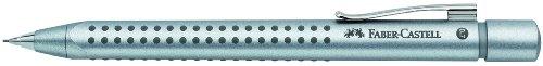 Faber-Castell 131211 - Druckbleistift GRIP 2011, Minenstärke: 0,7 mm, Schaftfarbe: silber