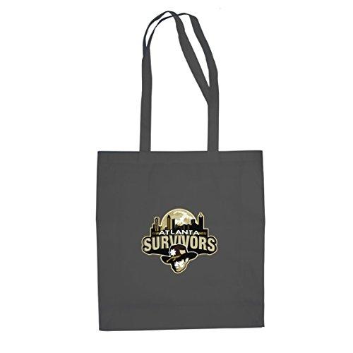 Atlanta Survivors - Stofftasche / Beutel, Farbe: grau (Atlanta Kostüme)