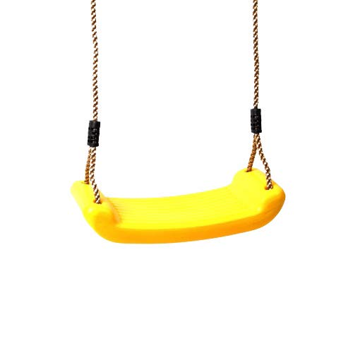 Schaukelsitz aus Kunststoff, gelb