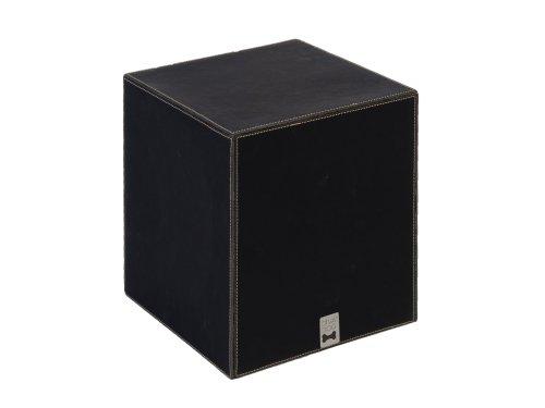 Quadratischen Sockel (DOGDOG ddpil-l bl Napf-Sockel passend zu Hundenapf quadratisch, L, schwarz)