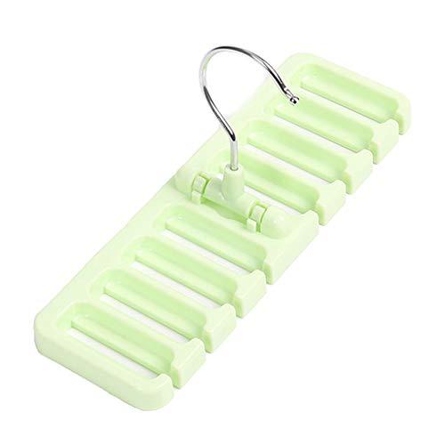 Kunststoff Gürtel Krawatte Schal Kleiderbügel Halter Home Storage Rack Closet Wardrobe Organizer
