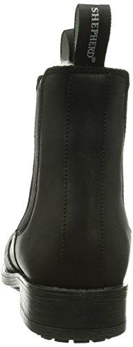 Shepherd SANNA OUTDOOR Damen Chelsea Boots Schwarz (BLACK 10)