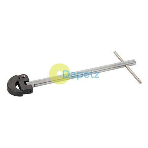 dapetz® Verstellbarer Standhahnmutterschlüssel 280mm gehärtete Stahlbacken und verstellbare Pivot Head
