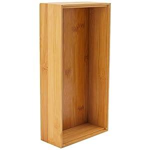 Zeller 13333 Ordnungsbox 30 x 15 x 7 cm, Bamboo