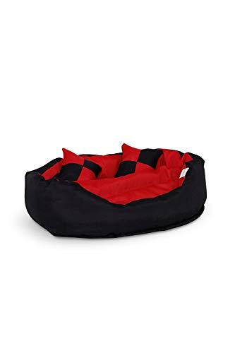 Zoom IMG-2 dibea cuscino per cani rosso