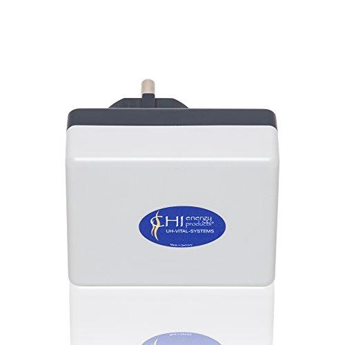 CHI-Netzstecker - Bewährte Elektrosmog Praevention - 5G optimiert - Wlan Handy & Tablet Schutz für Zuhause - Für 110 qm Fläche - Strahlenschutz Made in DE