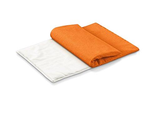 Beurer CLASSICO AT - Almohadilla electrónica, tacto suave, 47 x 36 cm, lavable, color naranja
