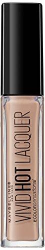 Maybelline Color Sensational Vivid Hot Lacquer, Nr. 60 Tease, Lippenlack, intensiv leuchtende Farbe...