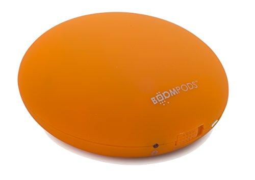 Boompods Downdraft Speaker Wireless Altoparlante Portatile, Bluetooth 4.0, Arancio