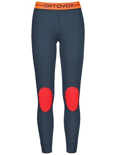 Ortovox - Pantaloni termici -  donna Blu notte