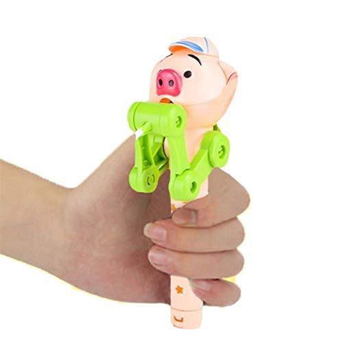 (happy event Kreatives Lutscher Artefakt | Lustiger Essen Lutscher Roboter | Halter Stand Geschenke Spielzeug (Grün))