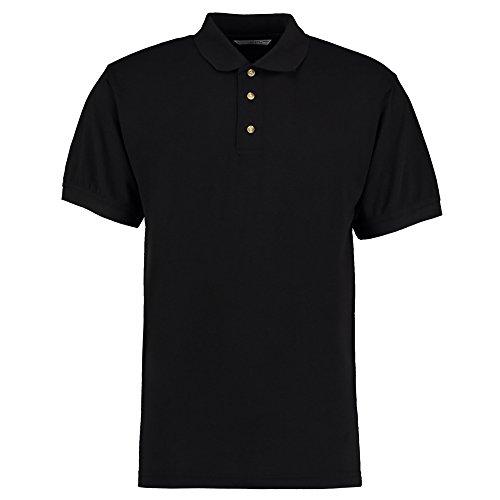 Kustom Kit Herren Modern Poloshirt Schwarz