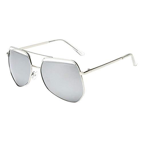 Sonnenbrille Neue Kinder Brillenmode Rundes Gesicht Multilateralen Big Frame Sonnenbrillen Für Mädchen Und Jungen Silber