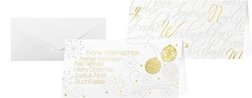 sigel-ds460-weihnachtskarten-set-tender-inkl-umschlage-din-lang-6-stuck-gesamt-mit-beflockung-einlag
