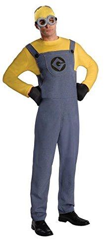 Ich unverbesserlich 2 Herren Kostüm Minion (Erwachsene Kostüme Dave Minion)
