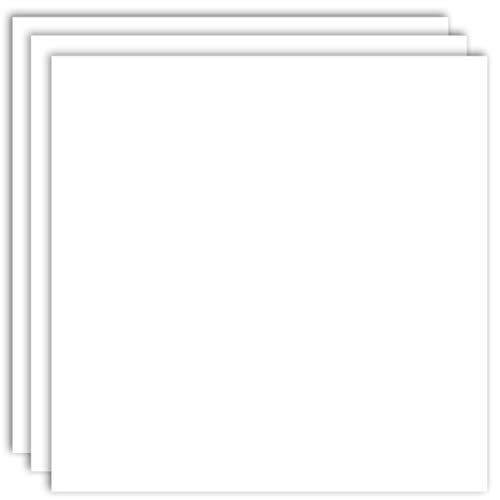 MarpaJansen 300.280-03 Fotokarton-(50 x 70 cm, 10 Bogen, 300 g/m²) -zum Basteln & Gestalten-Zertifizierung durch,Blauer Engel-weiß, Papier, Mehrfarbig, One Size