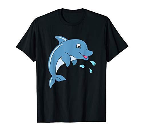 Delfine Erwachsenen T-shirt (Delphin TShirt Kinder Junge Mädchen Damen Herren Delfin)