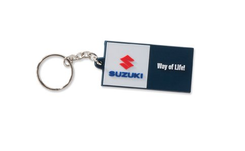 suzuki-way-of-life-keyring-schlusselanhanger-gummi-blau-weiss-rot
