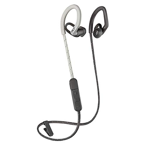 Plantronics BackBeat Fit 350 212344 99 Headphones with Mic  Gray  In Ear Headphones