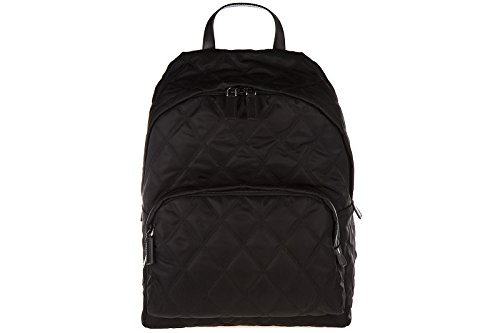 Prada-mens-Nylon-rucksack-backpack-travel-black