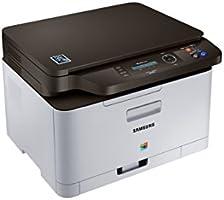 Samsung Xpress C480W/TEG Farblaser-Multifunktionsgerät (Drucken, Scannen, Kopieren, 2.400 x 600 dpi, 128 MB Speicher, 800 MHz Prozessor) grau/schwarz