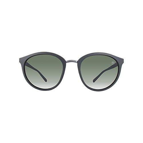 Occhiali da sole polarizzati timberland tb9112 c51 02r (matte black / green polarized)