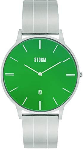 Storm London XORENO Lazer Green 47387/GN Reloj de Pulsera para Hombres