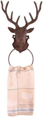 anneau-porte-serviette-avec-motif-tete-de-cerf