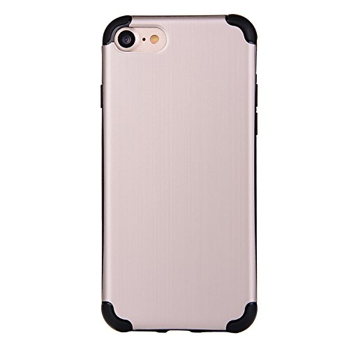 """iPhone 6sPlus Schutzhülle, CLTPY iPhone 6Plus [Ultra Hybrid] Luftpolster-Technologie Handytasche mit Weben Muster, [Kratzfeste] & [Stoßdämpfende] Gummi Cover für 5.5"""" Apple iPhone 6Plus/6sPlus (Nicht  Beige A"""