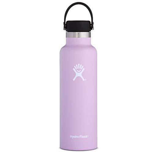 HYDRO FLASK Unisex - Botella para Adultos Standart Mouth, Color Morado, tamaño 21 oz