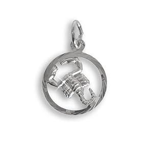 Sternzeichen Anhänger für Kinder Skorpion Sterling Silber 925 (213284)