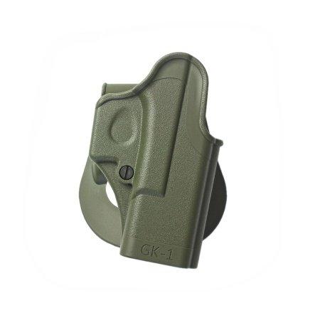 New OD GREEN imi-8010One Piece Holster für Glock 17/19/22/Pistolen Generation