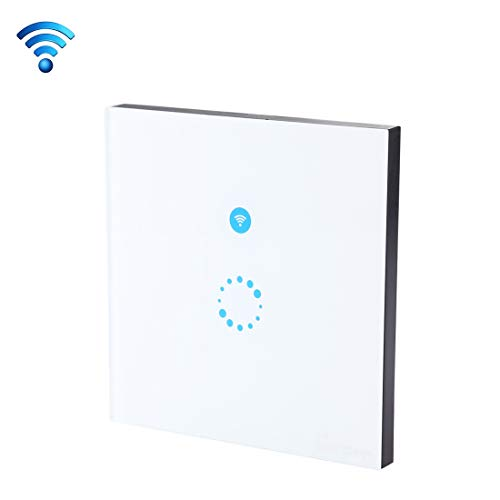 3-wege-licht-buchse (Smart Outlet, Sonoff Touch 86mm 1 Gang 1-Wege gehärtetes Glas Panel Wandschalter Smart Home Light Touch-Schalter, kompatibel mit Alexa und Google Home, AC 90V-250V 400W 2A Intelligentes Zuhause)
