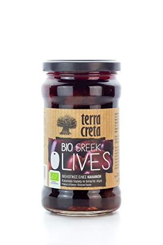 Terra Creta BIO Oliven Kalamata im Glas 160g Olive eingelegt