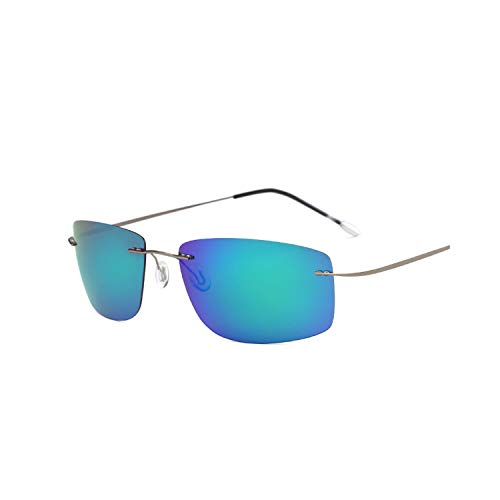 Sport-Sonnenbrillen, Vintage Sonnenbrillen, Polarisiert Men Anti-Glare Sunglasses Driving Eyewear Light Fishing Sun Glasses New Brand Designer High Quality UV400 C4