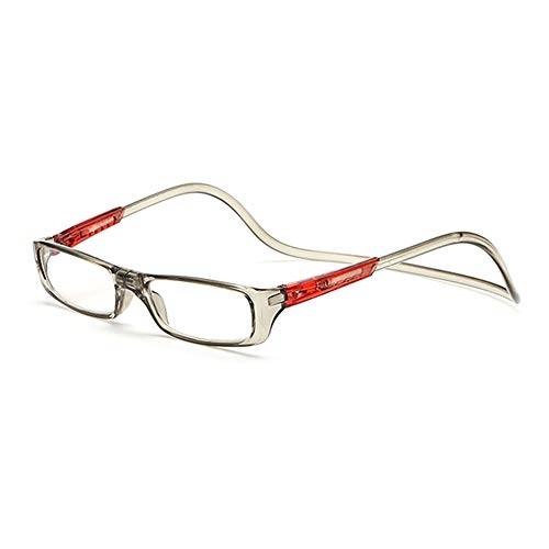 Gemseven occhiali da lettura magnetici unisex uomo donna occhiali colorati regolabili a sospensione pensili frontali magnetici