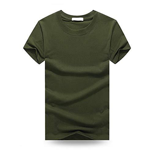 YURACEER Short-Sleeve Herren Sommer 2019Mode Herren T Shirts Casual Kurzarm T-Shirt Mens Feste Beiläufige Baumwolle T Shirt Sommer Kleidung x1 XL -