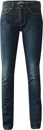 Preisvergleich Produktbild King Kerosin Speedgirl-2 Cordura Bi-Stretch Damen Biker Jeans Super Stone W33L30