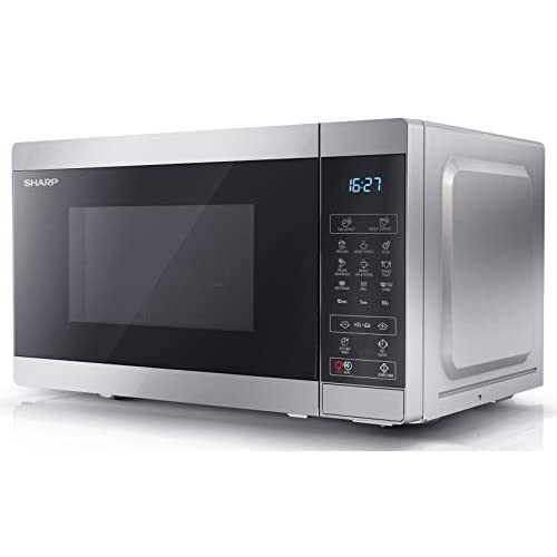31tfgvDR22L. SS500  - Sharp YC-MG02U-B digital 800W Microwave Oven with 1000W Grill, 20L Capacity & 11 Power Levels - Black