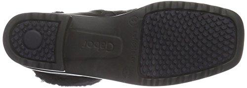 Gabor Shoes Comfort Basic, Stivaletti Donna Nero (schwarz Mel.)