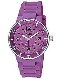 Watx Reloj Análogo clásico para Mujer de Cuarzo con Correa en Caucho RWA1604