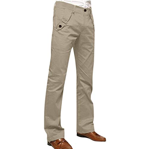 Bundhose Stretch Jeans Style Baumwolle Business Stoffhose Elegante Hose Classic Herren Slim fit Chinohose Casual Stretch -