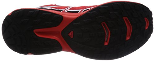 Salomon S-Lab Wings, Scarpe da Trail Running Unisex-Adulto Rojo (Racing Red / Black / White)