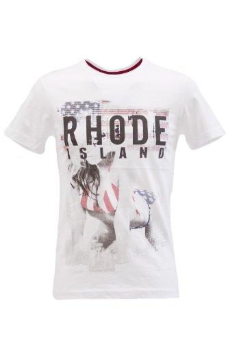 Blend of America -  T-shirt - T-shirt  - Maniche corte  - Uomo bianco X-Large