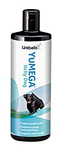 Lintbells YuMEGA Itchy Dog Supplement for dogs with itchy or sensitive skin   (500ml)