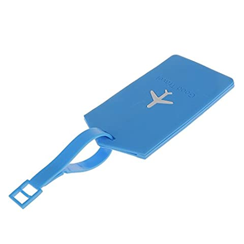 Rectangle Voyage Luggage Suitcase ID Security Label Tag Etiquette de