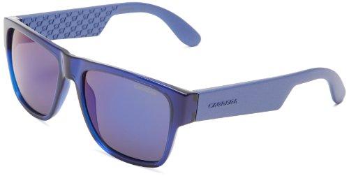 Carrera Unisex-Erwachsene 5002 1G B50 Sonnenbrille, Blau Matte Multilayer Bluee, 55