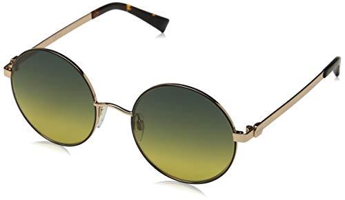 Max Max & Co. Damen Co.412/S Sonnenbrille, Mehrfarbig (Bk Gdcppr), 53