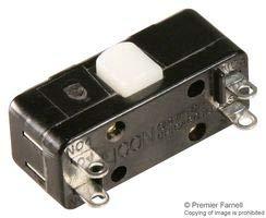 11-304-Mikroschalter, Miniatur, Stiftstößel, SPDT, Lötanschluss, 10 A, 28 VDC -